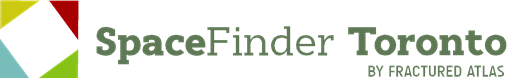 Space Finder Logo: square with four triangles